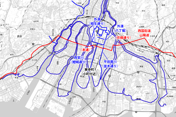 江戸時代:運河と街道